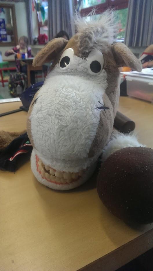 Zahnputzpferd
